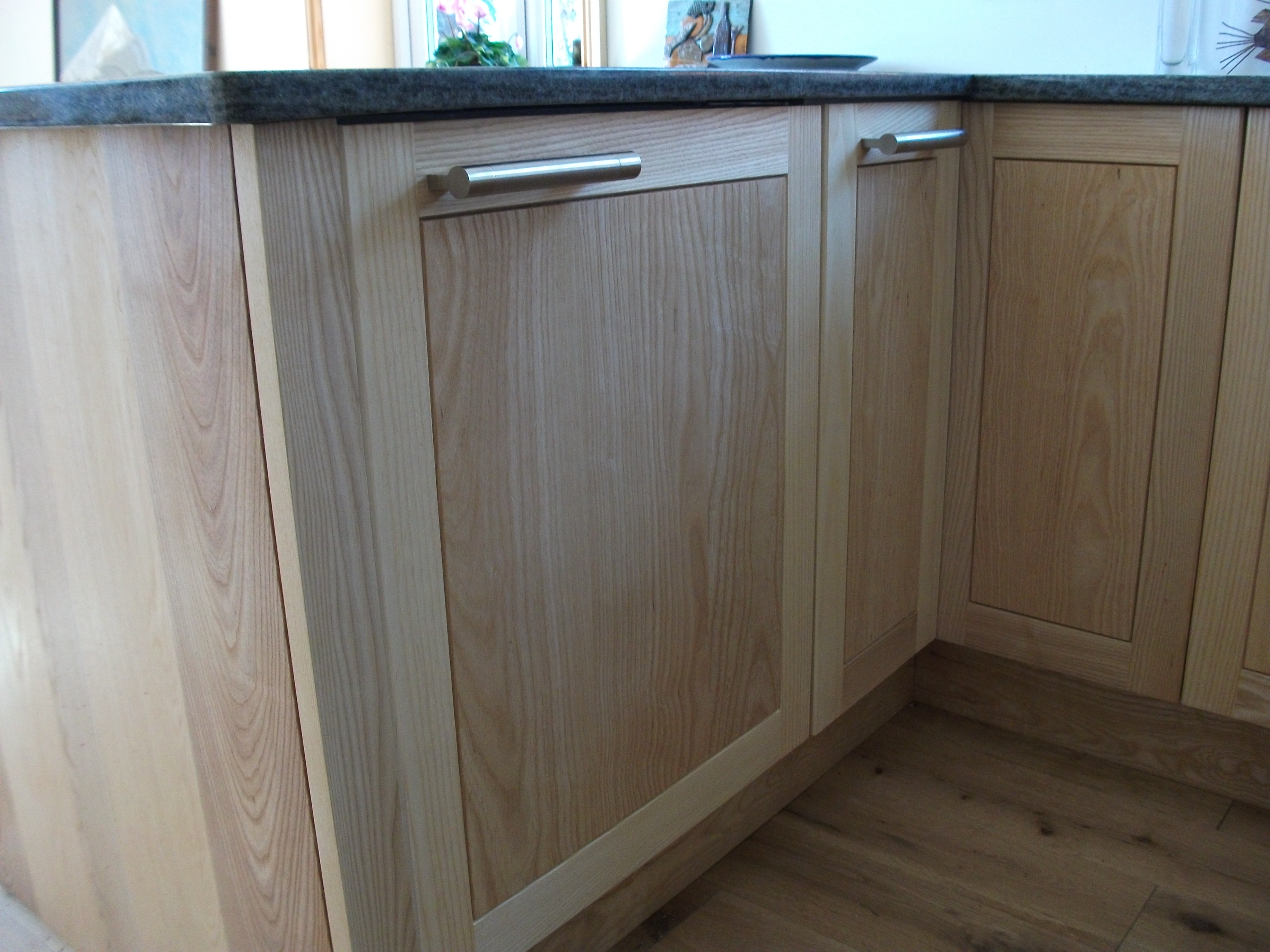 lackington joinery made bespoke oak cupboard doors to fit the standard